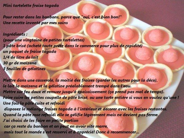 105 ém) *-.__.-**-._  Petites tartes tagada_.-**-.__.-*