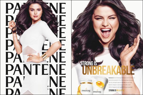 •Découvrez deux nouveaux clichés promotionnels de Selena G.pour la marque : «Pantene».