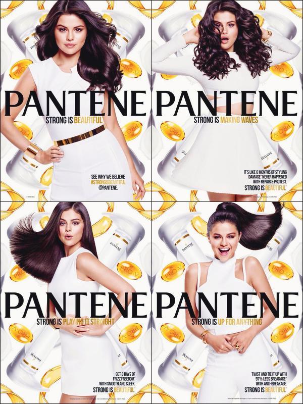 ››Découvrez un nouveau cliché de notre unique Selena Gomezpour la marque : «Pantene»!