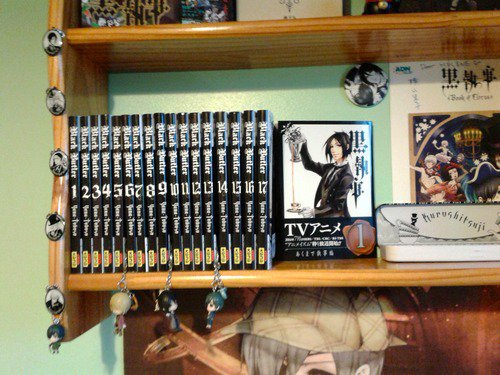 Ma collection de mangas