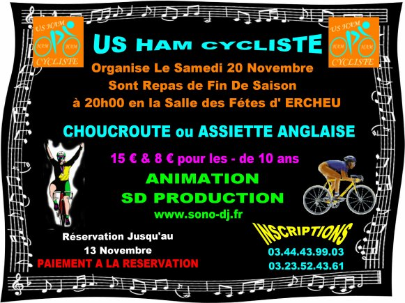 US HAM CYCLISTE