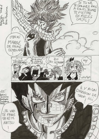 planche fairy tail