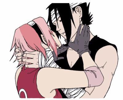 Naruto fanart Sasuke Sakura