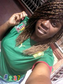 Cameroonaise et fier !! Camerounian and proud!!  #angierockworld