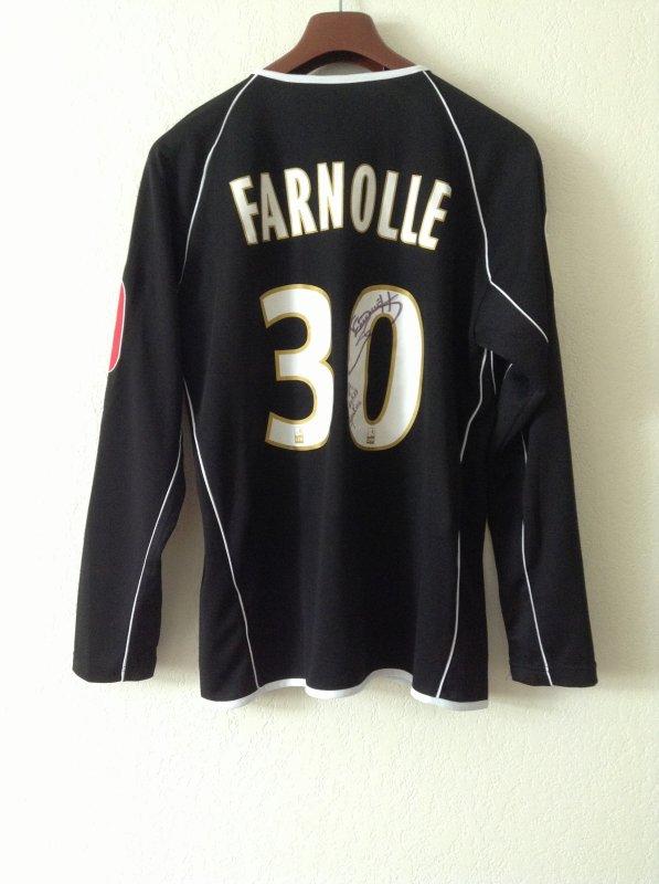 Maillot porté par Fabien Farnolle pour le match Chateauroux-Clermont, 18eme journée de ligue 2. 14/12/12