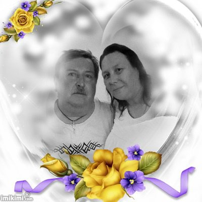 mon homme et moi pour la vie