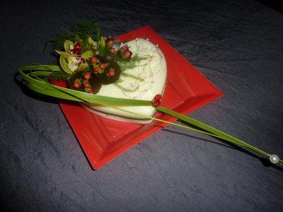 Je reviens de mon cours d 39 art floral coeur pour la saint valentin nicole - Coeur pour la saint valentin ...