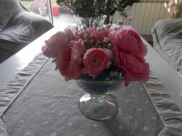 juste un bouquet renoncules