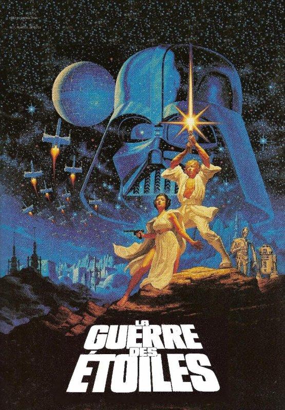 •Star Wars : Episode IV - Un nouvel espoir (La Guerre des étoiles)