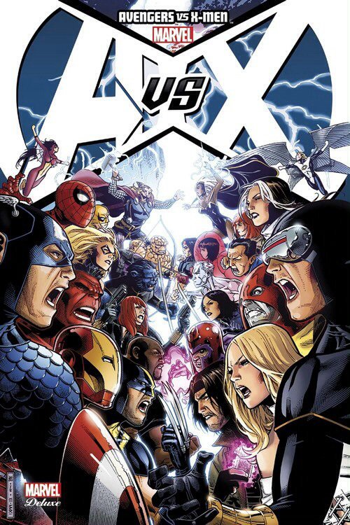 Avengers VS X-Men - (Deluxe tome 1)