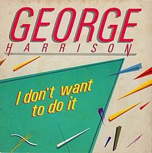 I don't want to do it / Queen of the Hop ( 22 Abril 1985 ) GEORGE HARRISON