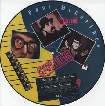 Spies like us ( Party Mix ) / Spies like us ( Alternative Mix ) / Spies like us ( DJ Mix ) / My Carnival ( Party Mix ) ( 18 Noviembre 1985 ) PAUL McCARTNEY