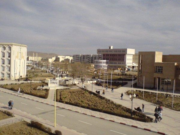 L'université de batna , El Haj Lakhdar :),   A L G E R I E