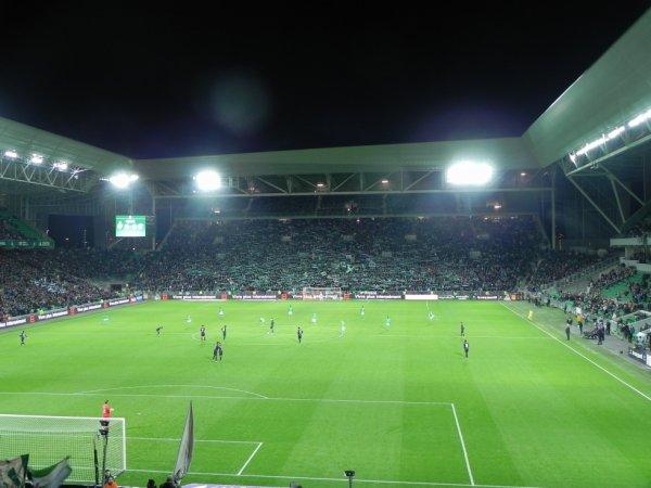 ASSE - PSG du 31-1-2016 match exceptionnel.