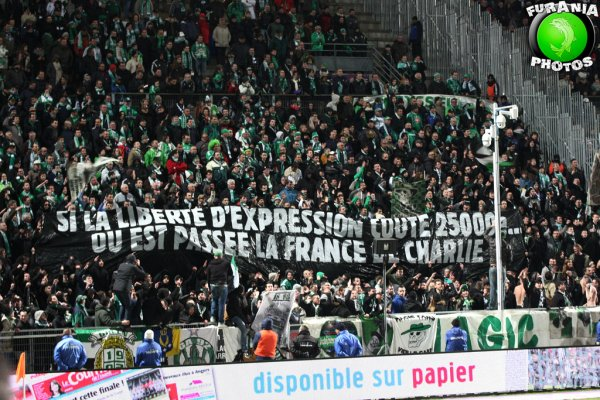 ANGERS * ASSE du 5 mars 2016 en photos.