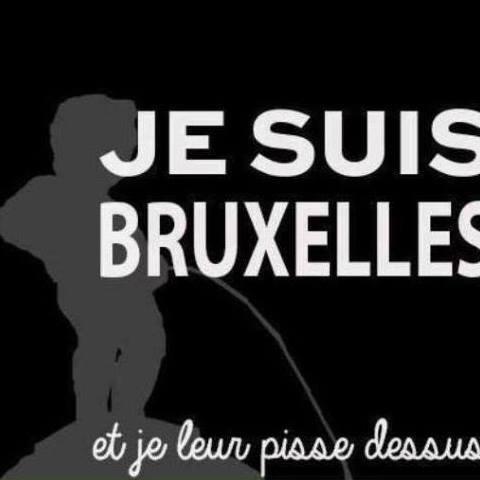 Avec tout notre soutien pour la Belgique.