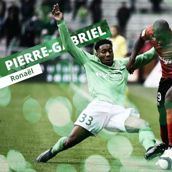 """PIERRE GABRIEL: """"une fierté de signer pro à l'ASSE""""."""