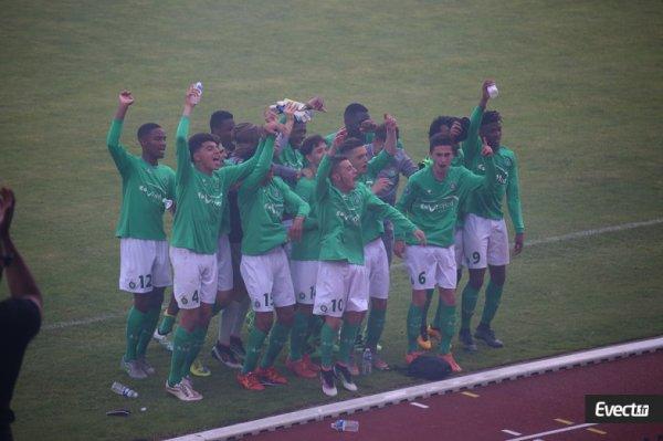 U17 : l'ASSE s'offre  une finale de championnat contre le PSG.