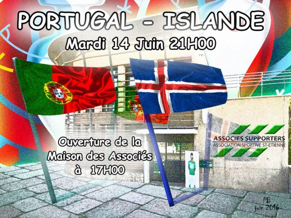 PORTUGAL * ISLANDE du 14 juin 2016.