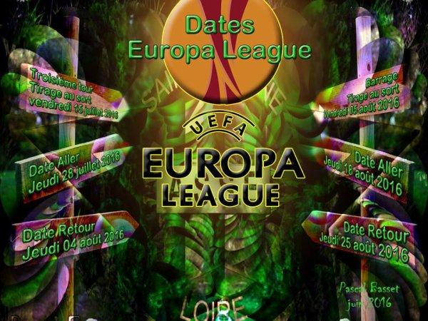 L'Europa League pour les VERTS, 4ème édition.