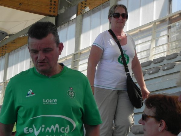 ASSE - TOURS -FC du 9 juillet 2016 match amical.