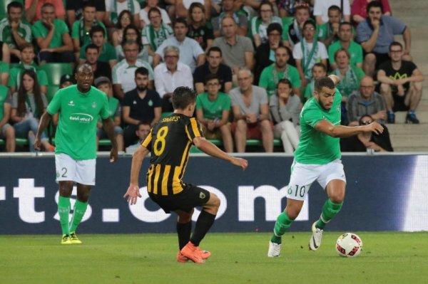 ASSE 0-0 AEK Athènes: les Verts gardent toutes leurs chances.