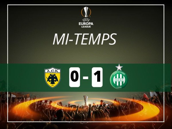 AEK-ATHENES * ASSE du 4 août 2016 Europa League.