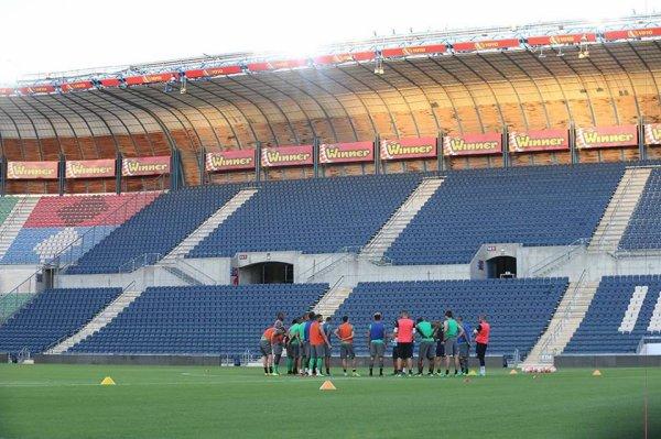 BEITAR-JERUSALEM * ASSE du 17 août 2016   Barrage  match aller  coupe de l'Europa League.