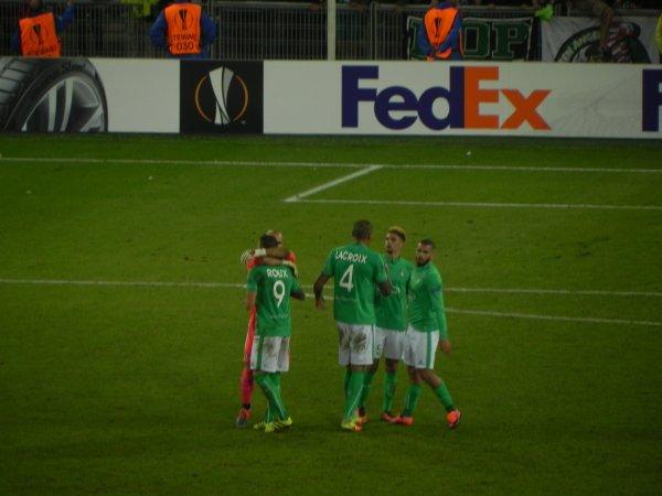 ASSE 1-1 ANDERLECHT: impossible n'est pas Stéphanois ! le vert couleur de l'espoir.