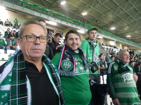 ASSE * ANDERLECHT du 29 septembre 2016 - 2éme match du groupe de l'Europa League 2016-2017. Et oui nous revoilà.....