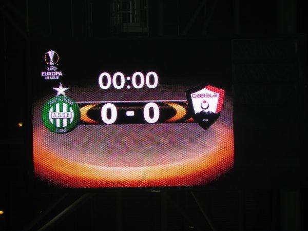 ASSE * QÄBÄLÄ  du 20 octobre 2016. 3ème match.