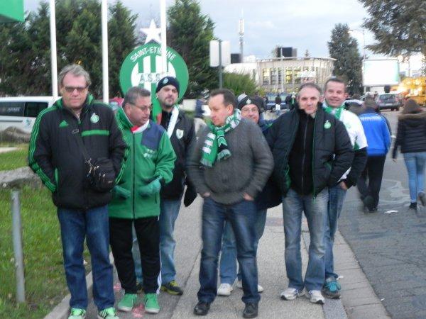 ASSE * QÄBÄLÄ  du 20 octobre 2016. Les Supporters sont de retour à Sainté.