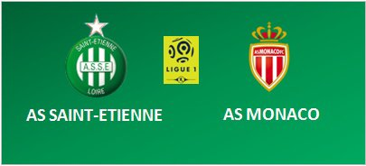 ASSE * MONACO du 29 octobre 2016 comptant pour la 11ème journée de championnat de ligue 1.