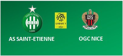 ASSE * NICE du 20 novembre 2016 comptant pour la 13ème journée de championnat de ligue 1.