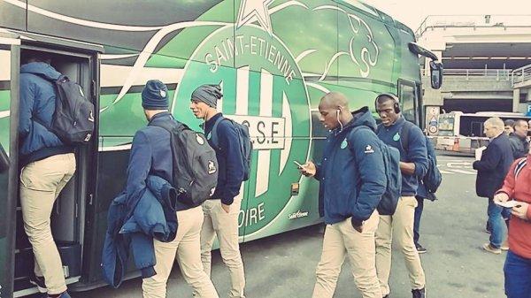 ANDERLECHT * ASSE du 8 décembre 2016 match retour de l'Europa League du groupe C. Départ pour la Belgique..