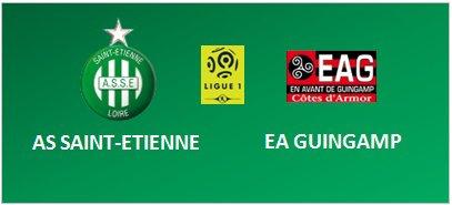 ASSE * GUINGAMP du 11 décembre 2016 comptant pour la 17 journée de championnat de ligue 1.
