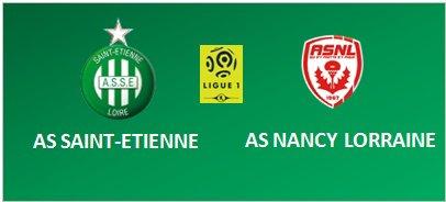 ASSE * AS-NANCY-LORRAINE du 14 décembre 2016 . 8ème de finale de la Coupe de la Ligue.