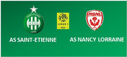 ASSE * NANCY du 21 décembre 2016 comptant pour la 19 journée de championnat de ligue 1.