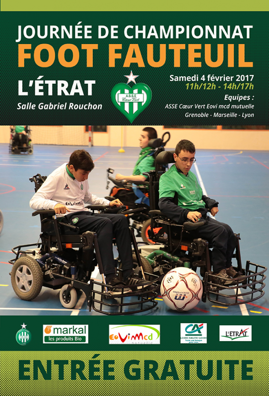 Foot fauteuil : premiers matchs demain avec un derby.