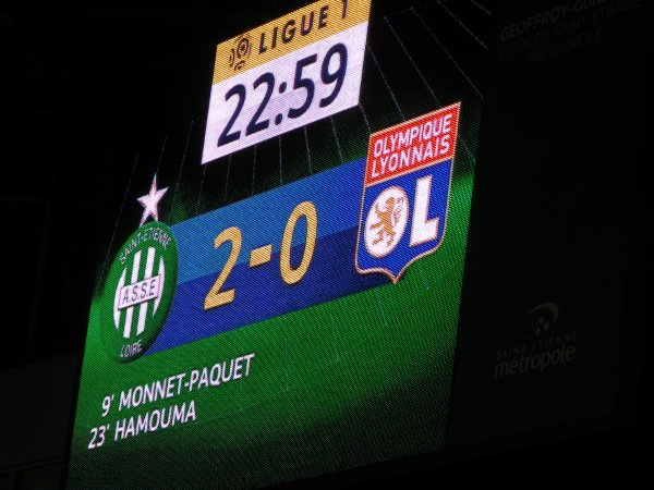 ASSE * OL du 5 février 2017 comptant pour la 23 journée de championnat de ligue 1..
