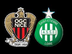 OGC-NICE * ASSE du 8 février 2017 comptant pour la 24ème journée de championnat de ligue1.