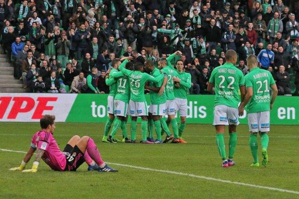 ASSE 4-0 FC LORIENT: GEOFFROY-GUICHARD, atout maître ! on en redemande. Merci les VERTS.