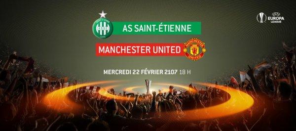 ASSE * MANCHESTER du 22 février 2017 Europa League saison 2016-2017..