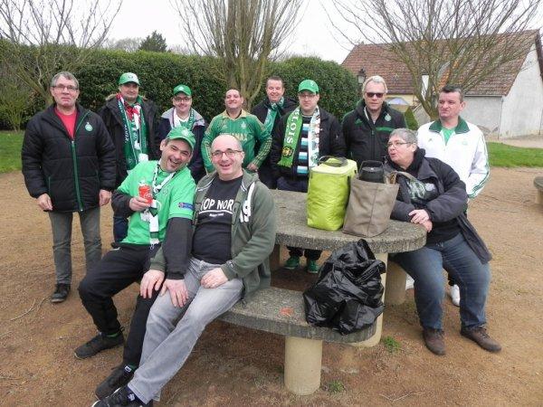 ASSE 2-2 FC METZ:  les SUPPORTERS sont toujours présents. Quelle fidélité, quel Amour du Club..