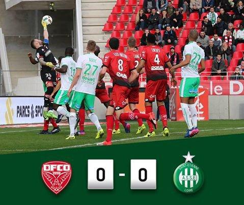 DIJON FCO 0 * 1 ASSE: les VERTS dans le mille !.