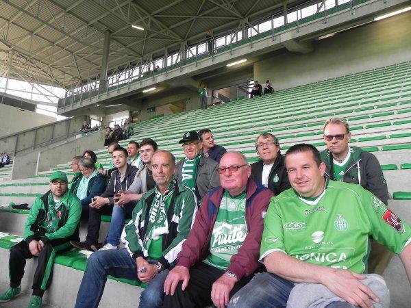 ASSE * PSG du 14 mai 2017. Des Supporters toujours présents.