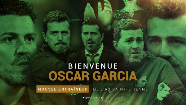 OSCAR GARCIA nouvel entraîneur.