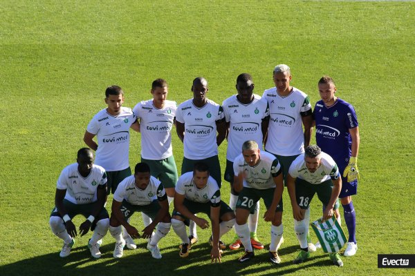 ASSE - NYON du 5 juillet 2017 . Match amical