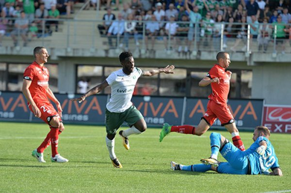 ASSE 4-0 DIJON: les Verts en démonstration.