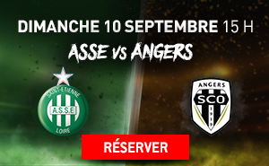 ASSE * SCO-ANGERS du 10 septembre 2017 comptant pour la 5ème journée de championnat de ligue 1.